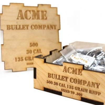 ACME Cast Bullet 30 CAL (.309) 135Grn RNFP (100 Pack) (AM96452)