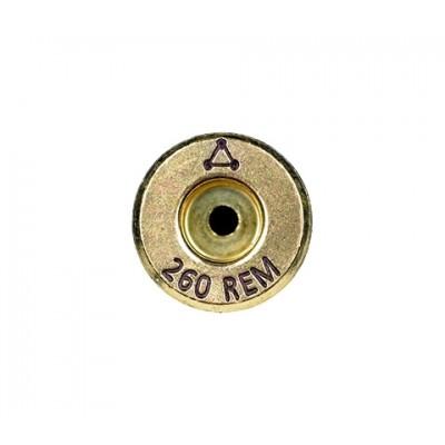 Atlas Development Group Brass 260 REM Annealed 50 Pack 260REM1-0RB