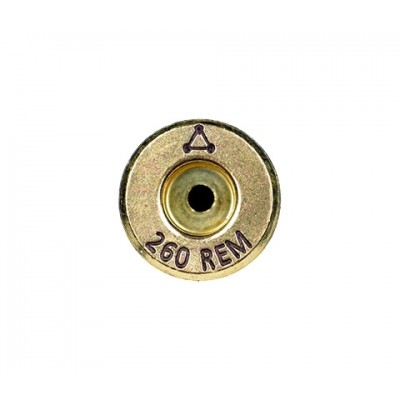 Atlas Development Group Brass 260 REM Bright 50 Pack 260REM2-0RB