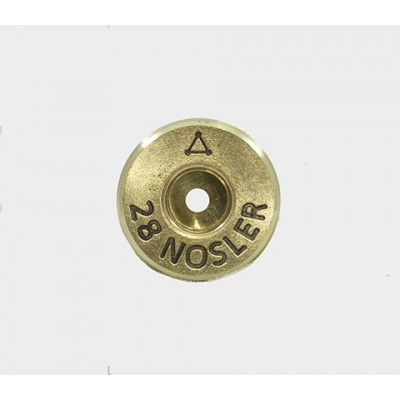 Atlas Development Group Brass 28 NOSLER Clean 50 Pack 28NOS2-0RB