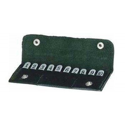 Bisley Peg Position Finder Wallet 1-10 PFWA10