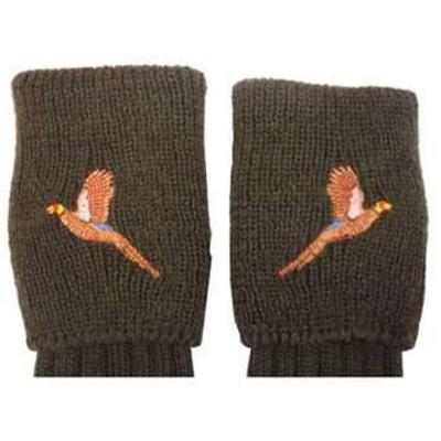 Bisley Tweed Pheasant Motif Shooting Socks (Large) BISS2