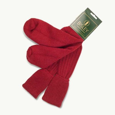 Bisley Red Shooting Socks (Large) BISS2