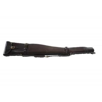 """Croots Malton Bridle Leather Double Shotgun Slip Zip/Flap 32"""" BL8"""