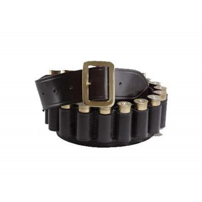 Croots Malton Bridle Leather Cartridge Belt 20G Med BL5
