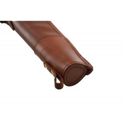 "Croots Byland Leather Shotgun Slip Zip/Handles London Tan 32"" LGS2"