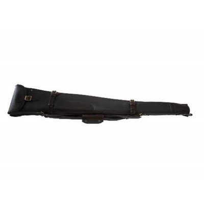 "Croots Byland Leather Double Shotgun Slip Zip/Flap Oxblood 32"" LGS7C"