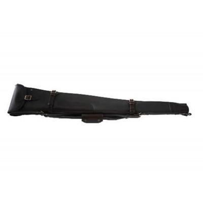 """Croots Byland Leather Double Shotgun Slip Zip/Flap Dark Havana 30"""" LGS7C"""