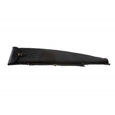 "Croots Byland Leather Rifle Slip Zip/Flap Dark Havana 45"" LRS6"