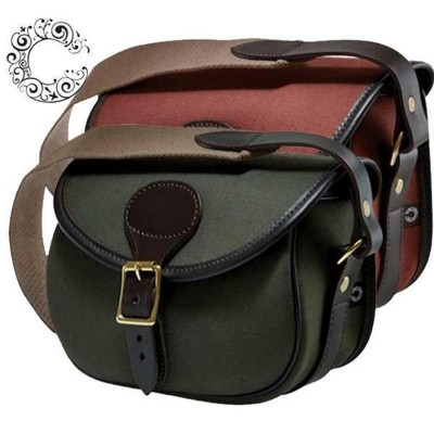 Croots Rosedale Canvas Cartridge Bag Loden Green 100 CCB100