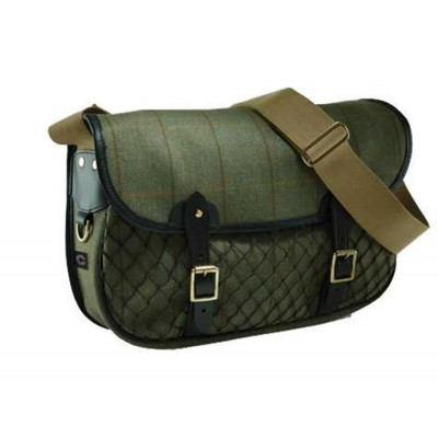 Croots Helmsley Tweed Netted Carry-All TFB2