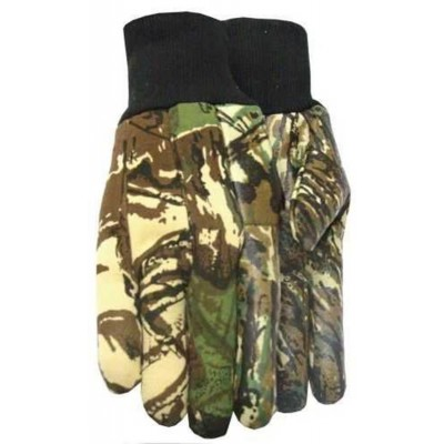 Midwest Outdoor Camo Gloves - LARGE MID1