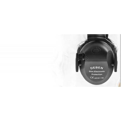 Deben Electronic Slim-Line Ear Defenders BLACK DS4121