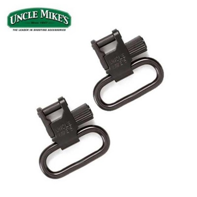 Uncle Mikes TriLock QD Sling Swivels UNSSQD