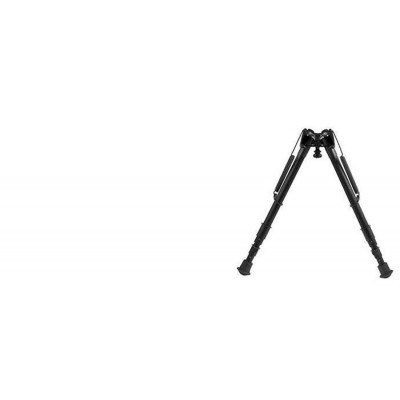 "Harris Adjustable Folding Bipod- Mod H 13.5-23"" Solid HBH"