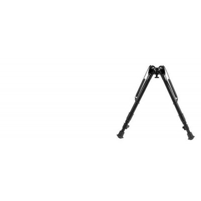 "Harris Adjustable Folding Bipod- Mod 25 12-25"" Solid HB25"