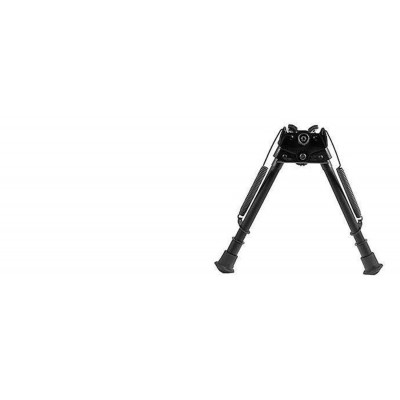"Harris Adjustable Folding Bipod- Mod LM Notched 9-13"" Swivel HBLMS"