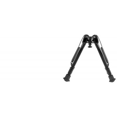 "Harris Adjustable Folding Bipod- Mod L 9-13"" Solid HBL"