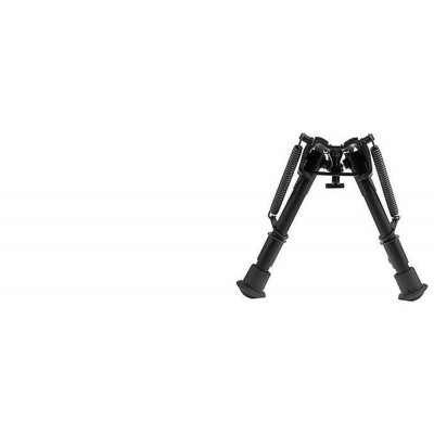 "Harris Adjustable Folding Bipod- Mod BR 6-9"" Solid HBR"