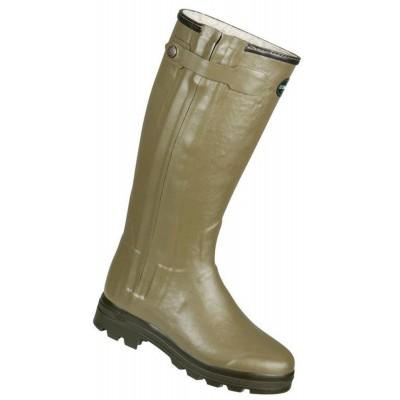 Le Chameau Ladies Chasseur Fouree Wellington Boots FUR BCB1812