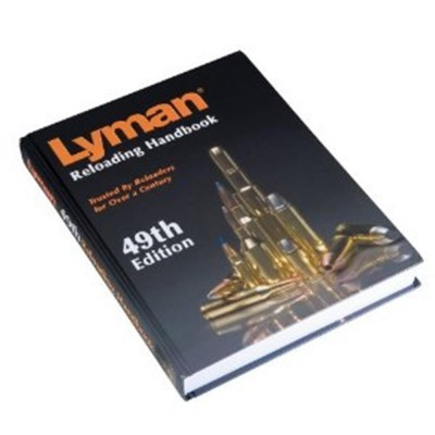 Lyman 49th Edition Reloading Handbook - Hardback LY9816052
