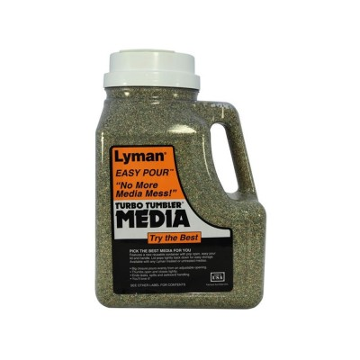 Lyman Corncob Media Treated Easy Pour Container 4.5 Lbs (LY7631394)