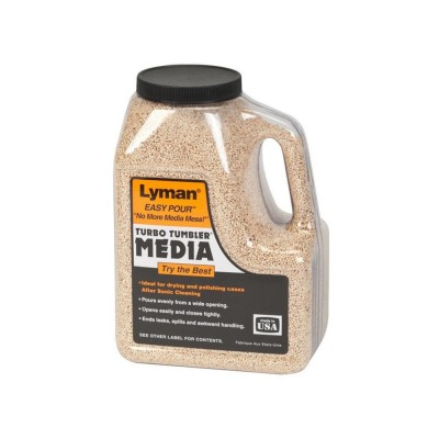 Lyman Corncob Media Untreated Easy Pour Container 4.5Lbs (LY7631392)