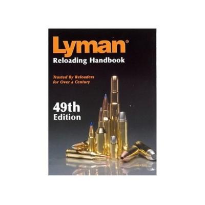 Lyman 49th Edition Reloading Handbook - Paperback LY9816049