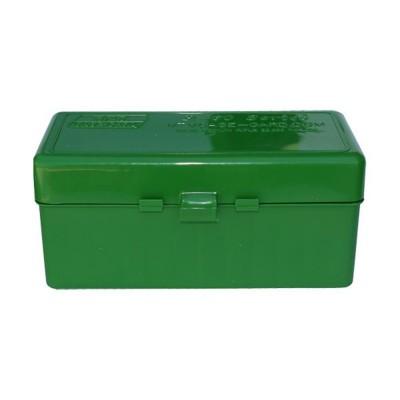 MTM 60 Round Rifle Ammunition Box RM-60 Green RM-60