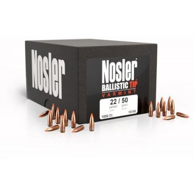 Nosler Ballistic Tip 224 CAL 55Grn 100 Pack NSL39526