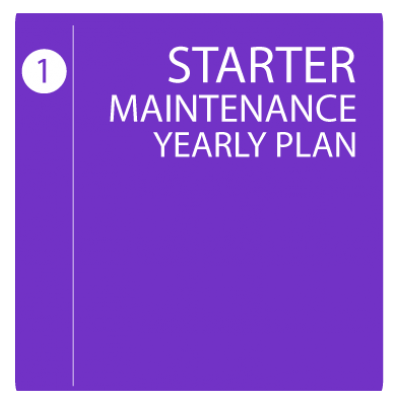 Starter Maintenance Yearly Plan