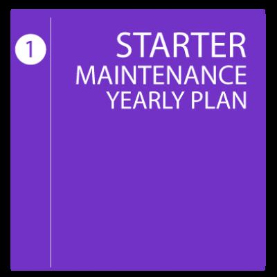 Starter Maintenance Yearly Plan