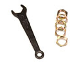 Dillon Die Lock Rings and Wrench (5 Pack) (10668)