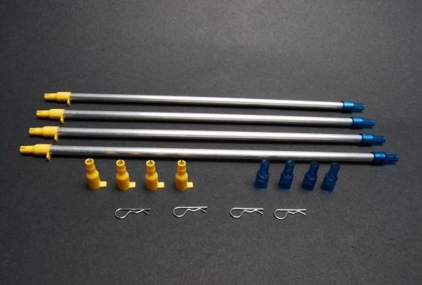 Dillon XL650 / Super 1050 / Square Deal B / RL550 4 Small Primer Pickup  Tubes (20049)