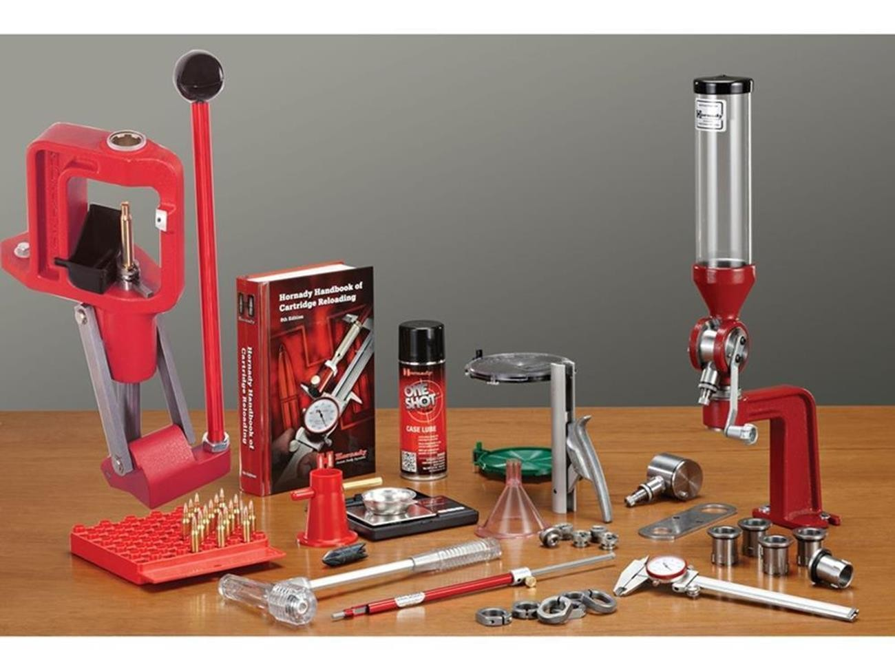 Hornady L N L Classic Deluxe Single Stage Press Kit Horn
