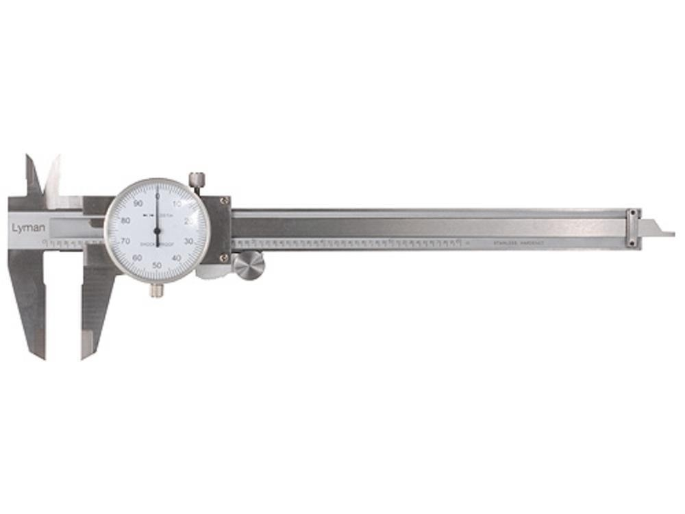 LY7832212 Lyman Stainless Steel Dial Caliper