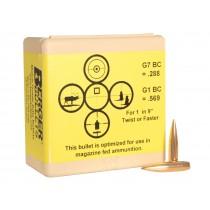 Berger Match AR Hybrid 6.5mm 130Grn Bullets (100 PACK) (26195)
