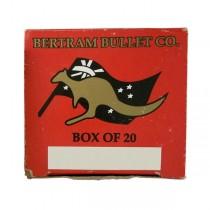 Bertram Brass 25-20-SS SINGLE SHOT FORMED (20 Pack) (BM280)