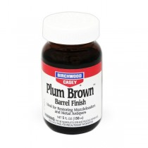 Birchwood Casey Barrel Finish PLUM BROWN 5oz 14130