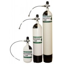 Bisley 300 BAR Air Cylinder Jubilee Valve 3 LITRE
