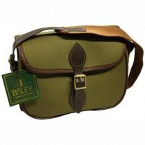 Bisley Canvas Cartridge Bag GREEN 75 Cartridges CBG75
