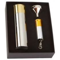 Bisley Cartridge Flask & Torch Gift Set BIFCATO