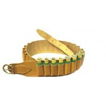 Bisley Natural Leather Cartridge Belt 12 BORE CBD12