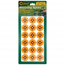 "Caldwell 1"" Orange Shooting Spots 12 Sheets (216 Pack) (BF754883)"
