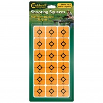 "Caldwell 1"" Orange Shooting Squares 12 Sheets (216 Pack) (BF711236)"