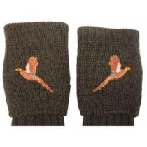Bisley Tweed Pheasant Motif Shooting Socks (Large) BISS2