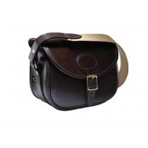 Croots Malton Bridle Leather Cartridge Bag BL3