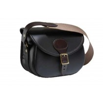 Croots Byland Leather Cartridge Bag Oxblood 100 LCB100