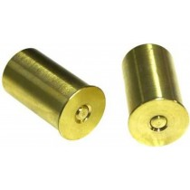 Bisley Snap Caps Brass 12 BORE Pair SCB12