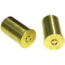 Bisley Snap Caps Brass 16 BORE Pair SCB16